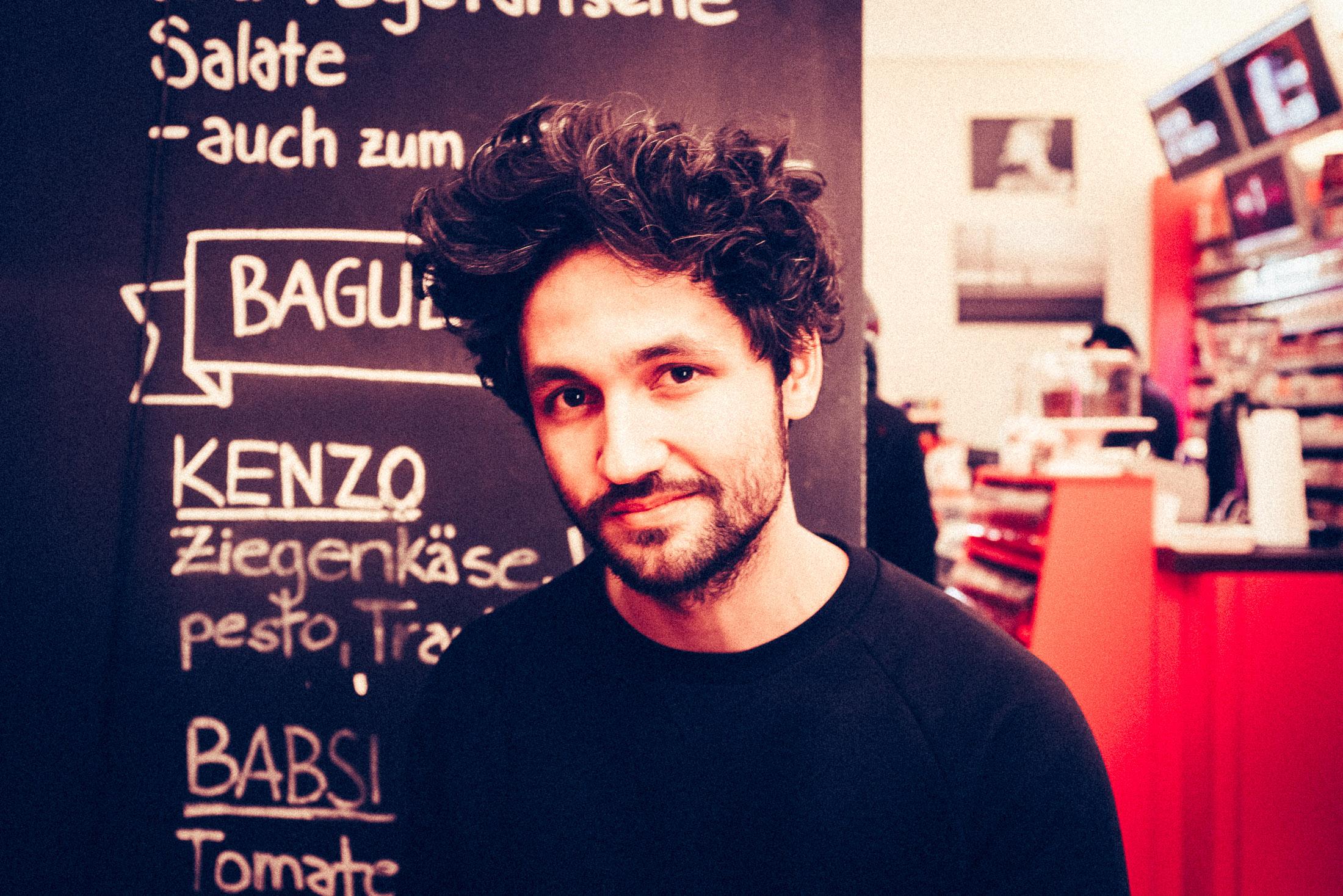 Auf ein Kölsch mit David im KölnKiosk im Belgischen Viertel