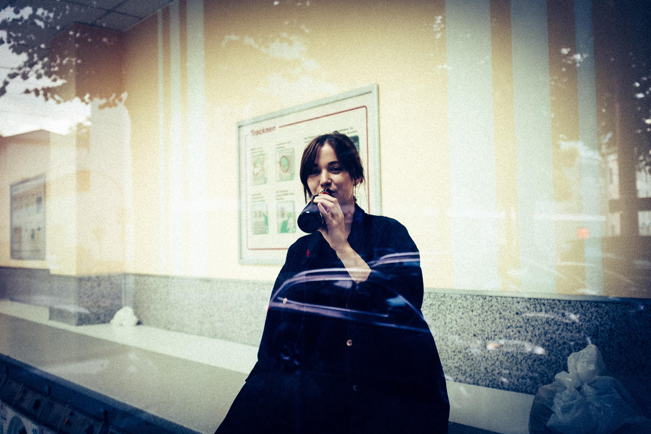 Auf ein Kölsch mit Lisa im Waschsalon in Deutz