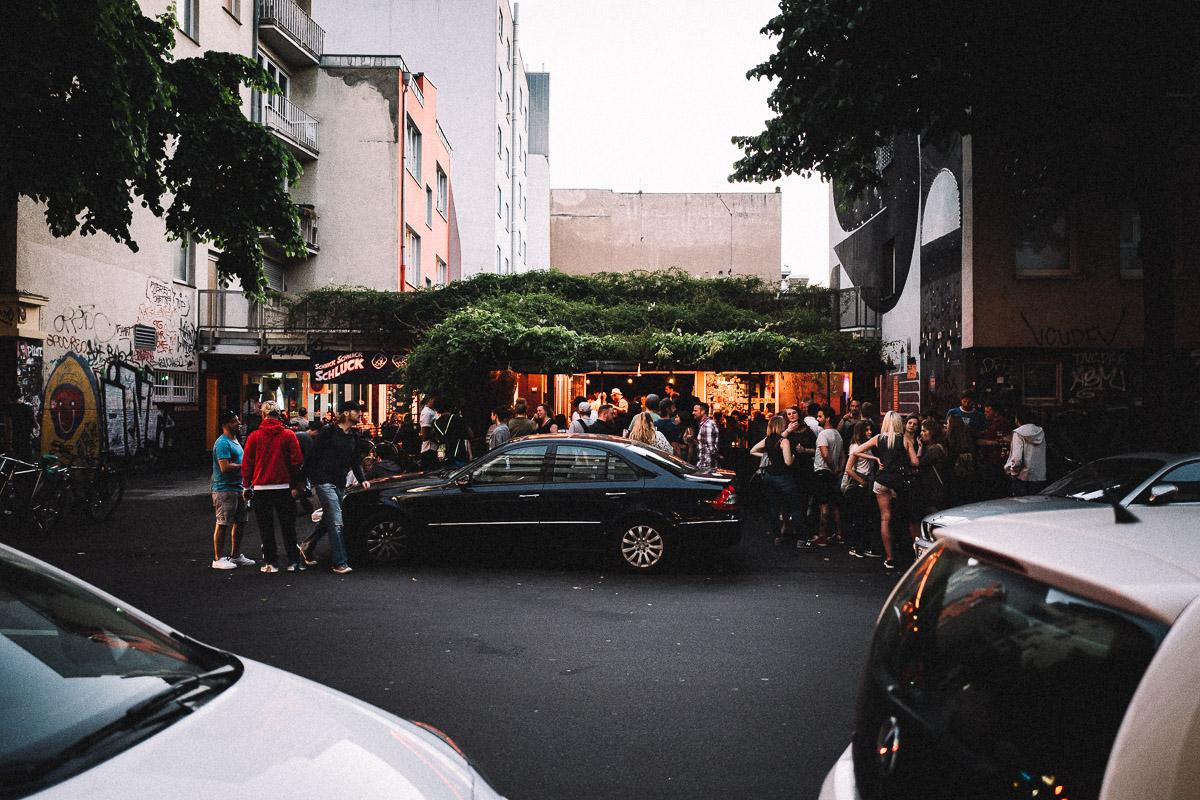 Das Grünfeld die wohl entspannteste Bar im Belgischen Viertel